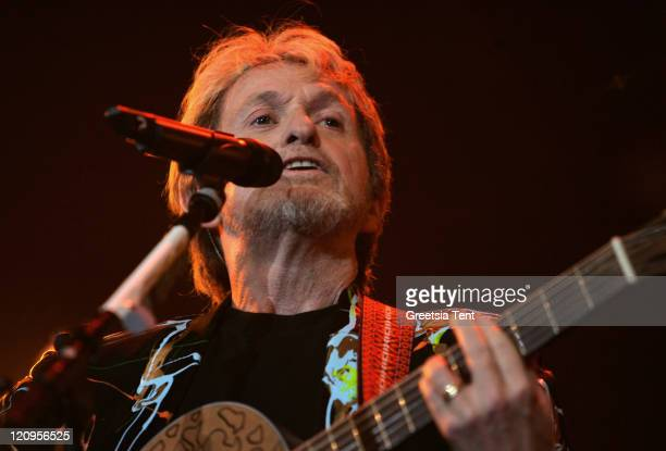 Jon Anderson former singer of Yes during Classics in Rock Opening Show 2007 at Ahoy' in Rotterdam Netherlands