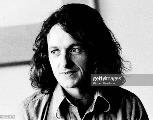 Jon Anderson from Yes posed in Rotterdam Netherlands in 1974