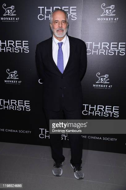 Jon Avnet attends a screening of Three Christs hosted by IFC and the Cinema Society at Regal Essex Crossing on January 09 2020 in New York City