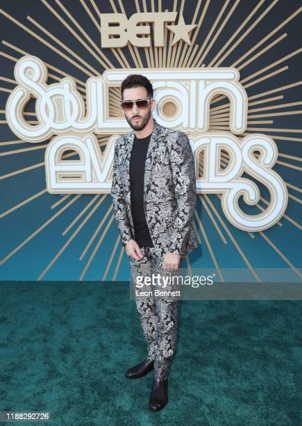Jon B attends the 2019 Soul Train Awards presented by BET at the Orleans Arena on November 17 2019 in Las Vegas Nevada