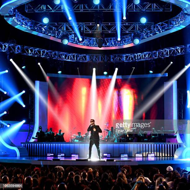 Jon B performs onstage during the 2018 Soul Train Awards presented by BET at the Orleans Arena on November 17 2018 in Las Vegas Nevada
