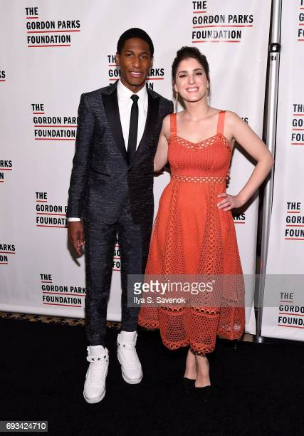Jon Batiste attends the 2017 Gordon Parks Foundation Awards Gala at Cipriani 42nd Street on June 6 2017 in New York City