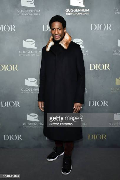 Jon Batiste attends the 2017 Guggenheim International Gala PreParty made possible by Dior on November 15 2017 in New York City