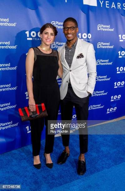 Jon Batiste attends the Planned Parenthood 100th Anniversary Gala at Pier 36 on May 2 2017 in New York City