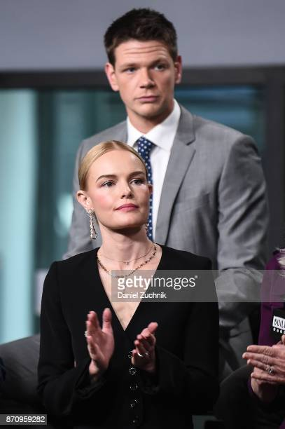 Jon Beavers and Kate Bosworth attend the Build Series to discuss the miniseries 'The Long Road Home' at Build Studio on November 6 2017 in New York...