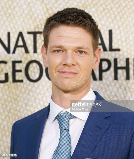 Jon Beavers arrives at the Los Angeles premiere of National Geographic's 'The Long Road Home' held at Royce Hall on October 30 2017 in Los Angeles...