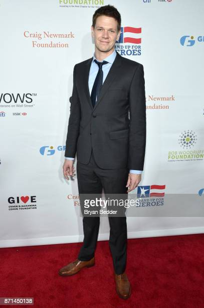 Jon Beavers attends the 11th Annual Stand Up for Heroes Event presented by The New York Comedy Festival and The Bob Woodruff Foundation at The...