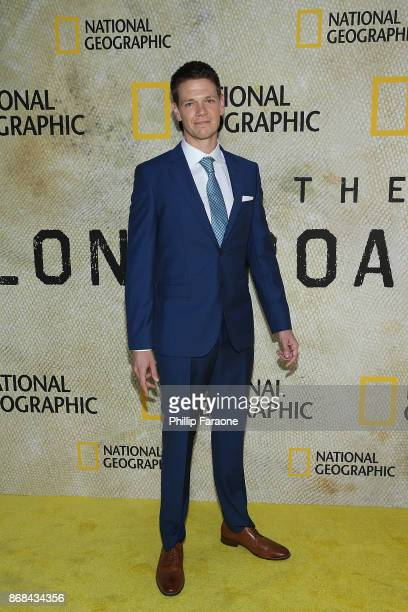 Jon Beavers attends the premiere of National Geographic's 'The Long Road Home' at Royce Hall on October 30 2017 in Los Angeles California