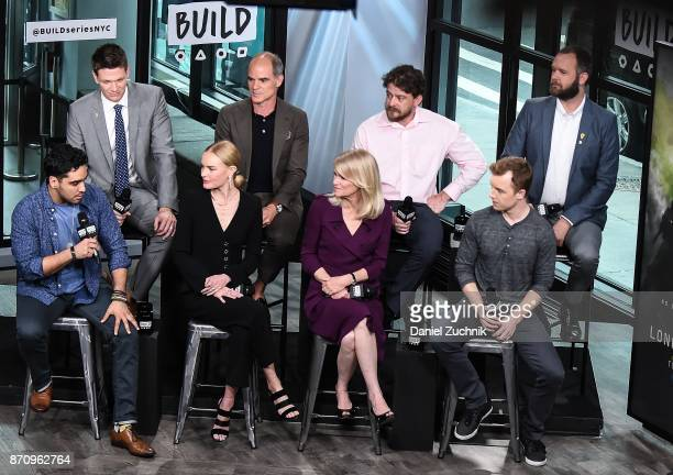 Jon Beavers EJ Bonilla Michael Kelly Kate Bosworth Martha Raddatz Aaron Fowler Eric Bourquin and Noel Fisher attend the Build Series to discuss the...