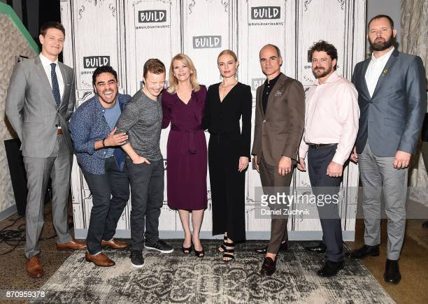 Jon Beavers EJ Bonilla Noel Fisher Martha Raddatz Kate Bosworth Michael Kelly Aaron Fowler and Eric Bourquin attend the Build Series to discuss the...