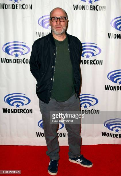 H Jon Benjamin attends the 'Archer' press line during WonderCon 2019 at Anaheim Convention Center on March 31 2019 in Anaheim California