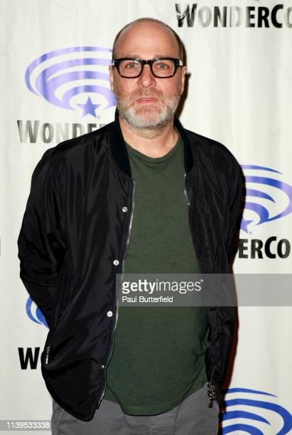 H Jon Benjamin attends the 'Archer' press line during WonderCon 2019 at Anaheim Convention Center on March 31 2019 in Anaheim California