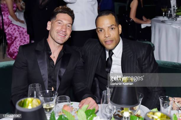 Jon Bernthal and guest attend the Academy Museum of Motion Pictures: Opening Gala honoring Haile Gerima and Sophia Loren, and Museum Campaign...