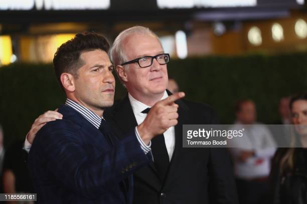Jon Bernthal and Tracy Letts attend the Premiere Of FOX's Ford V Ferrari at TCL Chinese Theatre on November 04 2019 in Hollywood California