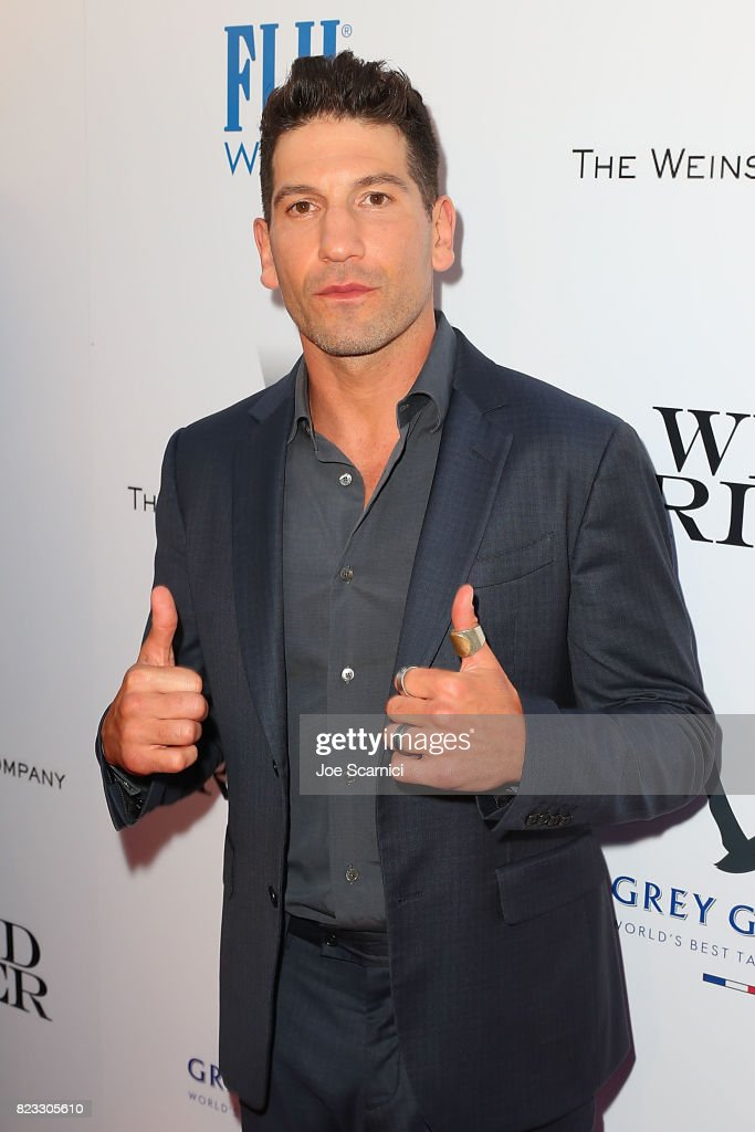 Jon Bernthal arrives at the Wind River Los Angeles Premiere Presented in Partnership with FIJI Water at Ace Hotel on July 26, 2017 in Los Angeles, California.