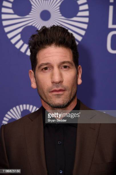 "Jon Bernthal attends a screening of ""Ford v Ferrari"" at The Film Society of Lincoln Center: Walter Reade Theatre on November 10, 2019 in New York..."