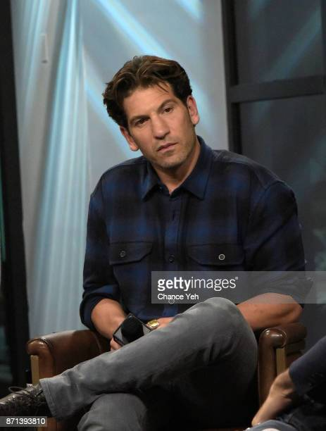 Jon Bernthal attends Build series to discuss 'Sweet Virginia' at Build Studio on November 7 2017 in New York City
