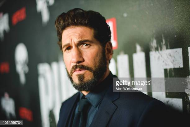 "Jon Bernthal attends Marvel's ""The Punisher"" Los Angeles Premiere at ArcLight Hollywood on January 14, 2019 in Hollywood, California."