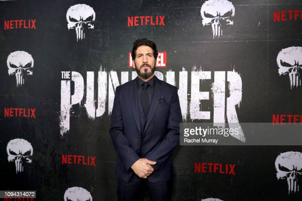 "Jon Bernthal attends ""Marvel's The Punisher"" Seasons 2 Premiere at ArcLight Hollywood on January 14, 2019 in Hollywood, California."