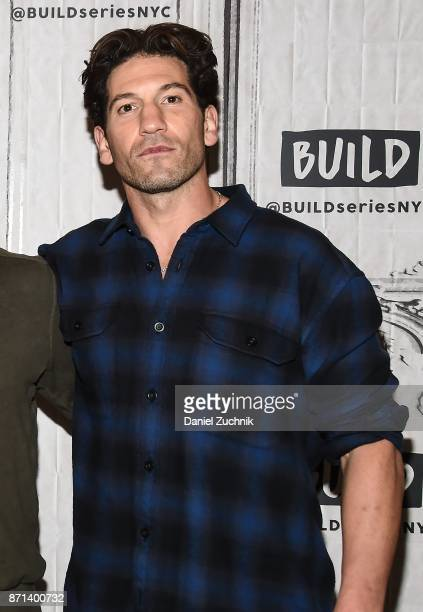 Jon Bernthal attends the Build Series to discuss the new film 'Sweet Virginia' at Build Studio on November 7 2017 in New York City