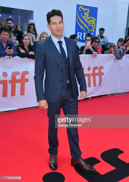 "Jon Bernthal attends the ""Ford v Ferrari"" premiere during the 2019 Toronto International Film Festival at Roy Thomson Hall on September 09, 2019 in..."