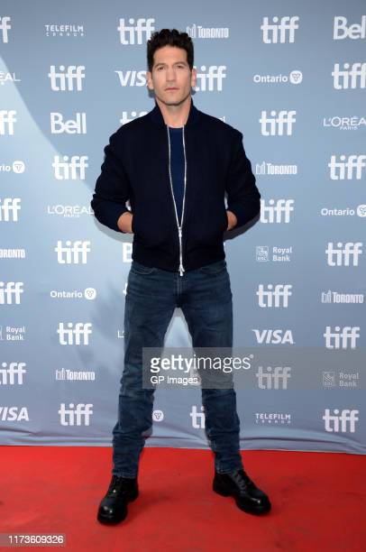 "Jon Bernthal attends the ""Ford v Ferrari"" press conference during the 2019 Toronto International Film Festival at TIFF Bell Lightbox on September 10,..."