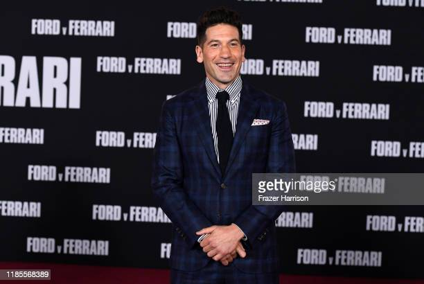 Jon Bernthal attends the Premiere Of FOX's Ford V Ferrari at TCL Chinese Theatre on November 04 2019 in Hollywood California