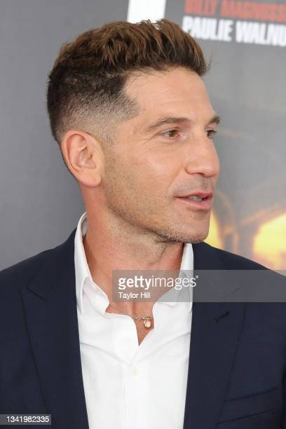 """Jon Bernthal attends the premiere of """"The Many Saints of Newark"""" at Beacon Theatre on September 22, 2021 in New York City."""