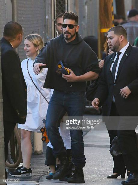 Jon Bernthal is seen at 'Jimmy Kimmel Live' on March 23 2016 in Los Angeles California