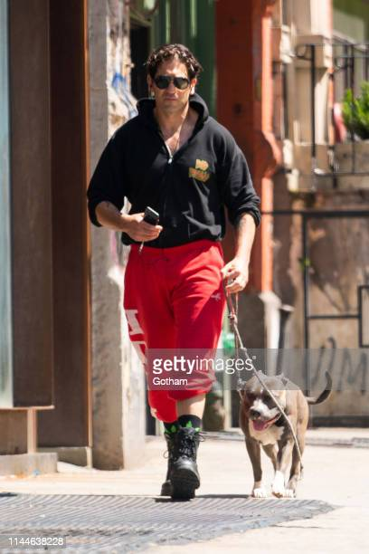 Jon Bernthal is seen in NoHo on April 23 2019 in New York City