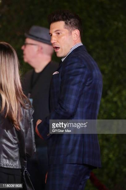 Jon Bernthal is seen on November 4 2019 in Los Angeles California