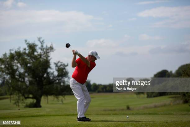 Jon Bevan from Sherborne Golf Club during the Titleist and Footjoy PGA Professional Championship at Luttrellstown Castle on June 14 2017 in Dublin...