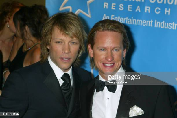 Jon Bon Jovi and Carson Kressley during The Entertainment Industry Foundation's 2nd Hollywood Hits Broadway Benefit Gala for Colon Cancer Arrivals at...