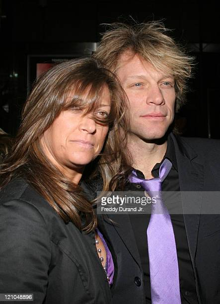 Jon Bon Jovi and Dorothea Bon Jovi during Lestat Opening Night After Party at Time Warner Center in New York NY United States
