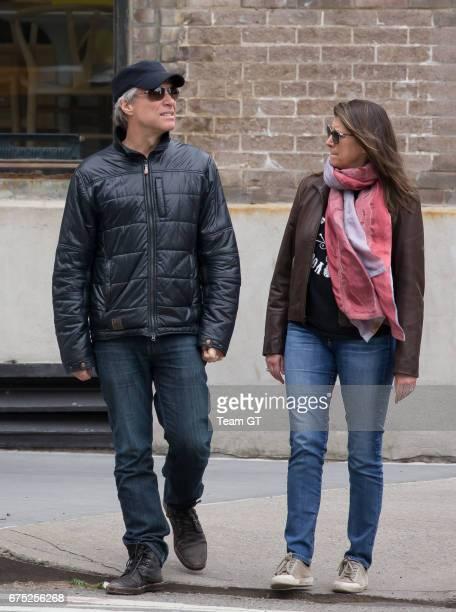 Jon Bon Jovi and Dorothea Hurley are seen on April 30 2017 in New York City
