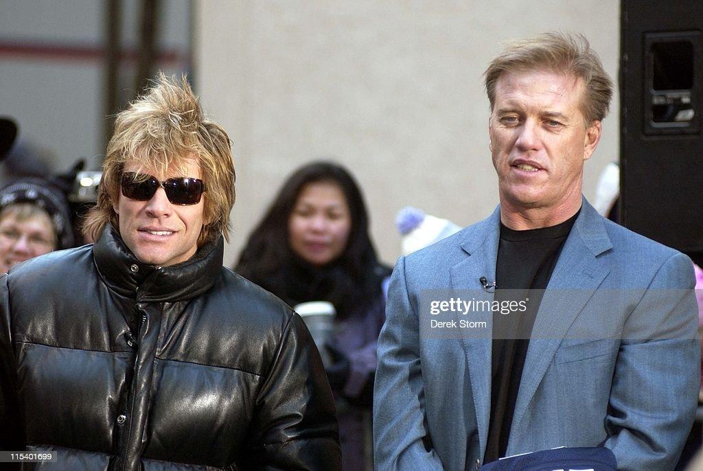 "Jon Bon Jovi, John Elway and Chad Hedrick Appear on the ""Today"" Show - January"