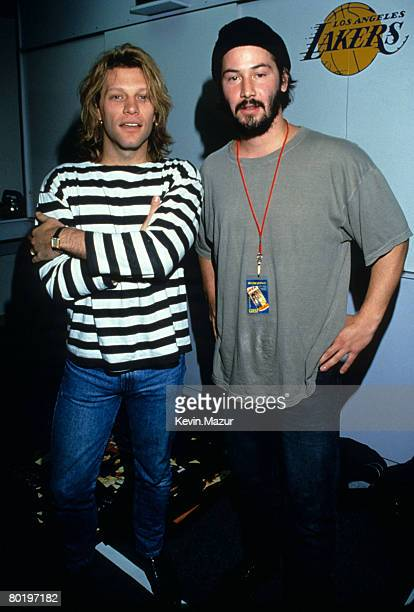 Jon Bon Jovi and Keanu Reeves