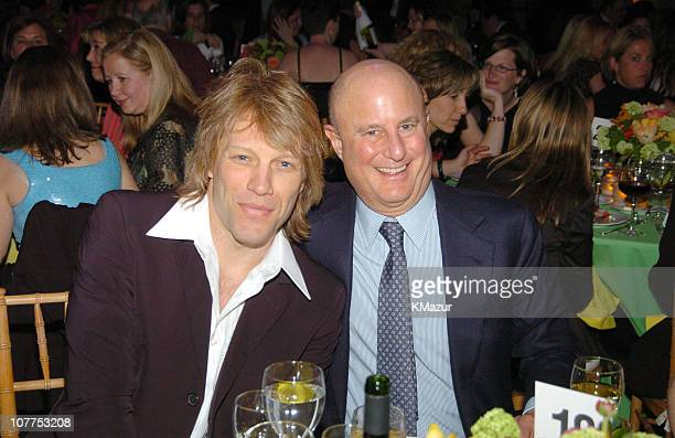Jon Bon Jovi and Ron Perelman during 10th Annual National Breast Cancer Coalition Gala Hosted by Revlon at Manhattan Center's Grand Ballroom in New...