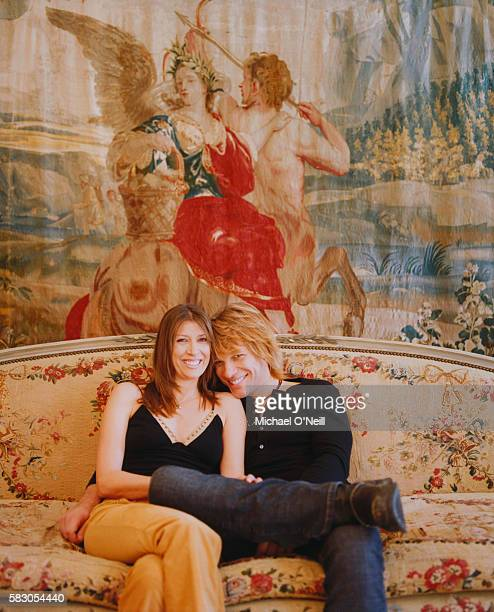 Jon Bon Jovi and Wife Dorothea Hurley