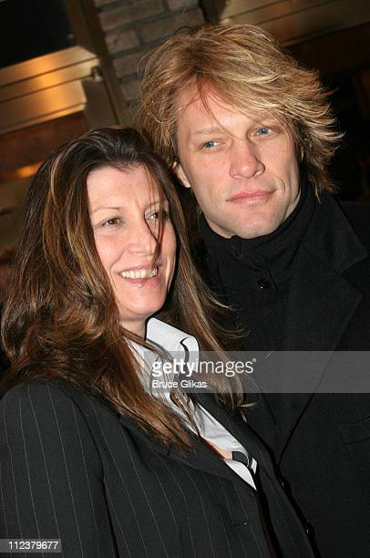 Jon Bon Jovi and wife Dorthea during Billy Crystal Makes His Broadway Debut in 700 Sundays at The Broadhurst Theater/Tavern on the Green in New York...