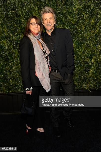 Jon Bon Jovi attends the 2017 Tribeca Film Festival Chanel Artists Dinner on April 24 2017 in New York City