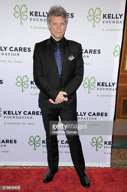Jon Bon Jovi attends the Kelly Cares Foundation 2016 Irish Eyes Gala at The Pierre Hotel on March 14 2016 in New York City