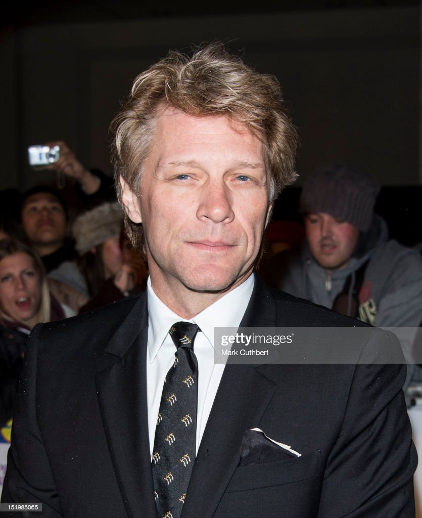Jon Bon Jovi attends the Pride Of Britain awards at Grosvenor House, on October 29, 2012 in London, England.