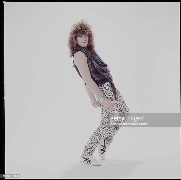 Jon Bon Jovi Bon Jovi studio photo session in Tokyo April 1985