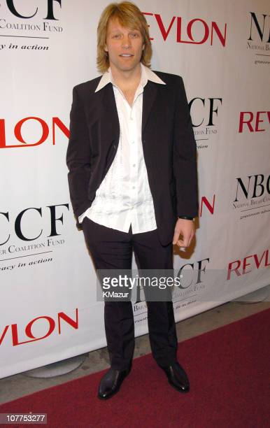 Jon Bon Jovi during 10th Annual National Breast Cancer Coalition Gala Hosted by Revlon at Manhattan Center's Grand Ballroom in New York City New York...