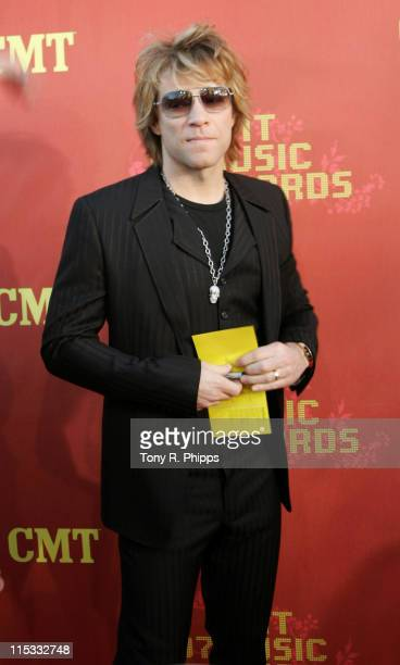 Jon Bon Jovi during 2007 CMT Music Awards - Arrivals at The Curb Event Center at Belmont University in Nashville, Tennessee, United States.