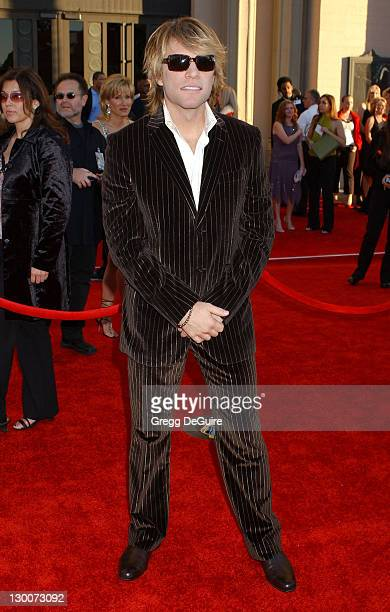 Jon Bon Jovi during 32nd Annual American Music Awards Arrivals at Shrine Auditorium in Los Angeles California United States