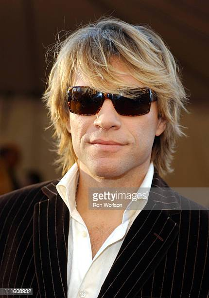 Jon Bon Jovi during 32nd Annual American Music Awards Red Carpet at Shrine Auditorium in Los Angeles California United States