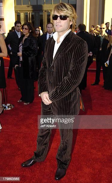 Jon Bon Jovi during 32nd Annual American Music Awards Red Carpet at Shrine Auditorium in Los Angeles California
