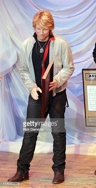 Jon Bon Jovi during 44th Annual ASCAP Country Music Awards Show at Ryman Theater in Nashville TN United States